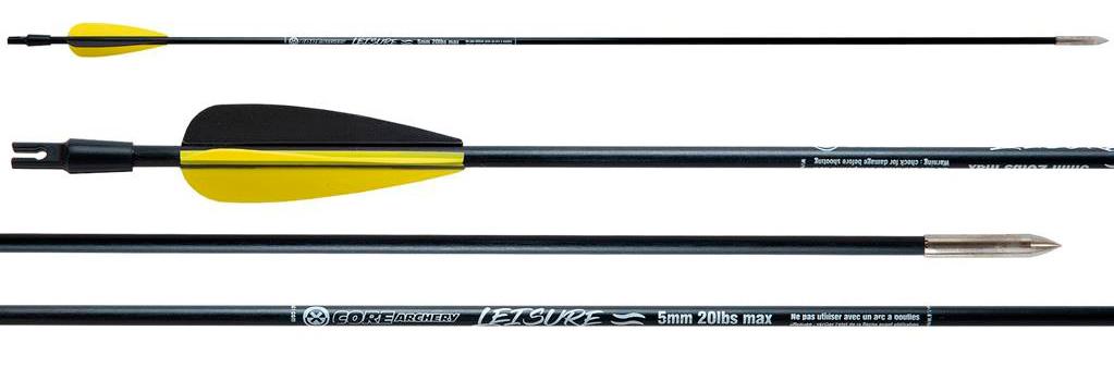 Flechas para tirar con arco